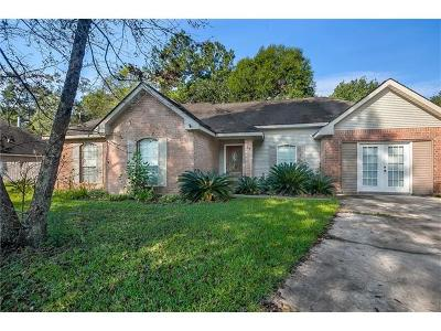 Madisonville Single Family Home For Sale: 51 Oak Park Drive