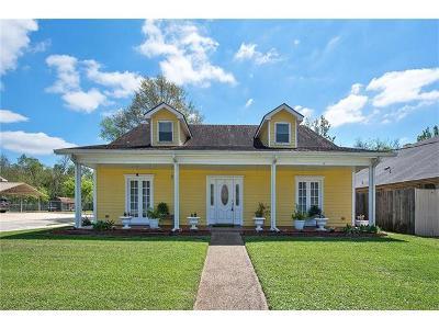 Mereaux, Meraux Single Family Home For Sale: 2925 Maureen Lane