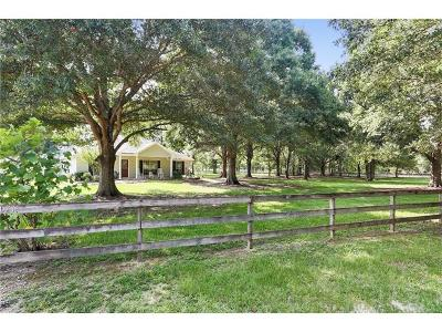 Covington Single Family Home For Sale: 83071 Lee Road