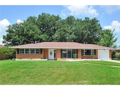 Marrero Single Family Home For Sale: 516 Avenue H Street