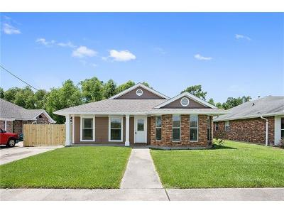 Mereaux, Meraux Single Family Home For Sale: 3224 Judy Drive