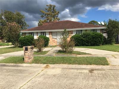 New Orleans Single Family Home For Sale: 7833 Primrose Drive