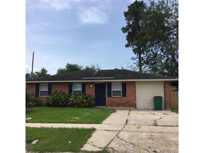 Marrero Single Family Home For Sale: 2717 Britannica Drive