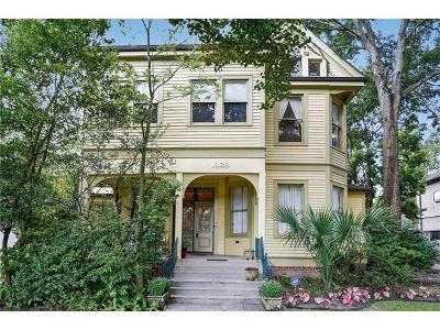 New Orleans Multi Family Home Pending Continue to Show: 1839 Calhoun Street