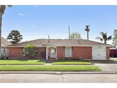 Kenner Single Family Home For Sale: 3921 Lake Trail Drive