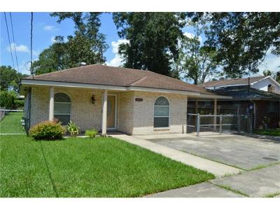 Marrero Single Family Home For Sale: 2808 Jeanne Street