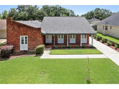 Destrehan Single Family Home For Sale: 902 Ormond Boulevard