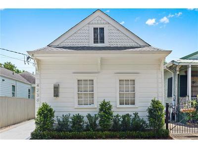 New Orleans Single Family Home For Sale: 4230 Laurel Street