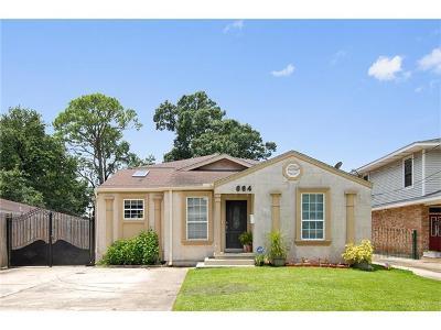 Jefferson Single Family Home For Sale: 664 Newman Avenue