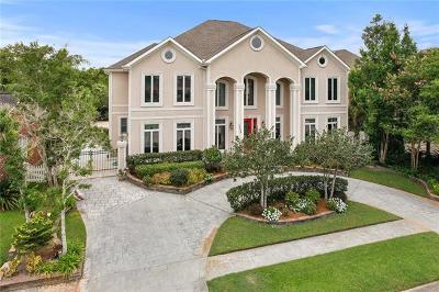 Kenner Single Family Home For Sale: 4405 Rue De La Harbor