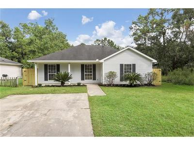 Slidell Single Family Home For Sale: 40664 Chinchas Creek Road