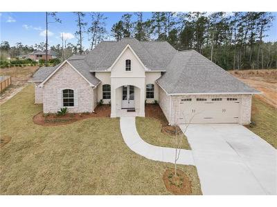 Madisonville Single Family Home For Sale: 1524 Periwinkle Court