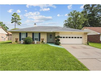 Slidell Single Family Home For Sale: 1609 Admiral Nelson Drive