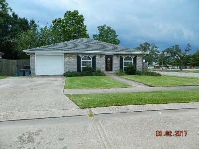 Kenner Single Family Home For Sale: 401 Baroni Drive