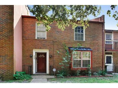 New Orleans Townhouse For Sale: 7705 Concord Place