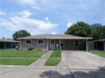 Gretna Single Family Home For Sale: 433 W Butterfly Circle