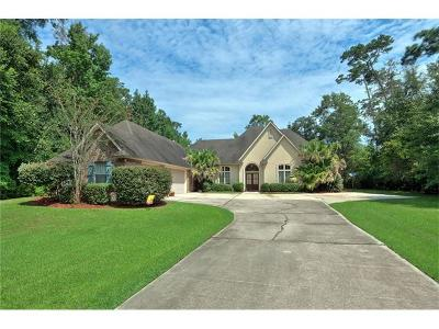 Slidell Single Family Home For Sale: 1221 Bluff Drive