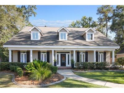 Madisonville Single Family Home For Sale: 40 Elmwood Loop