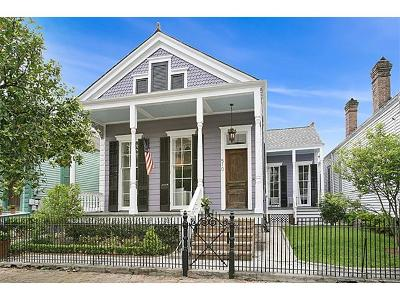 New Orleans Single Family Home For Sale: 510 Cherokee Street