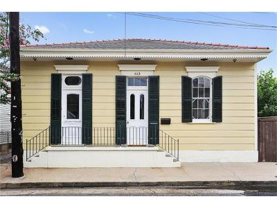 New Orleans Single Family Home For Sale: 613 Louisa Street