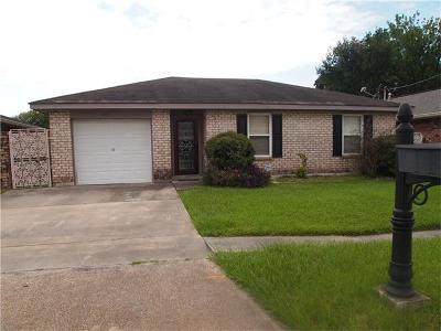 Kenner Single Family Home For Sale: 3233 Illinois Avenue