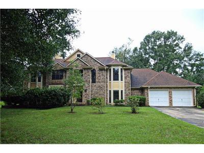 Slidell Single Family Home For Sale: 137 Golden Pheasant Drive