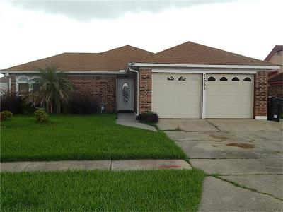 New Orleans Single Family Home For Sale: 7553 Adventure Avenue