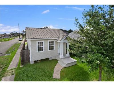 Marrero Single Family Home For Sale: 801 Avenue B Avenue