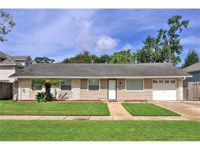 Kenner Single Family Home Pending Continue to Show: 3605 Ole Miss Drive