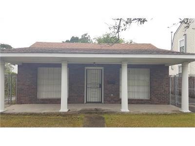 Single Family Home For Sale: 510 Bonnabel Boulevard