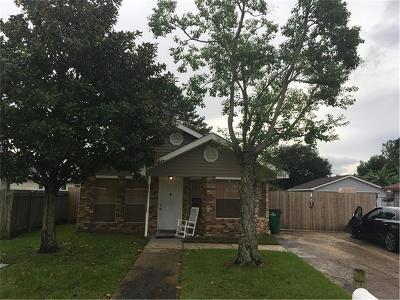 Marrero Single Family Home For Sale: 2805 Bayou Teche Drive