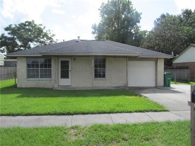 Marrero Single Family Home For Sale: 5091 Rochester Drive