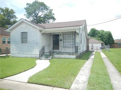 Westwego Single Family Home For Sale: 521 Victory Drive