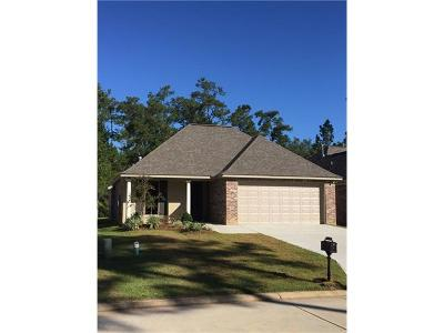 Slidell Single Family Home For Sale: 131 Cross Creek Drive #A