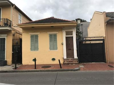 New Orleans Single Family Home For Sale: 730 Dauphine Street