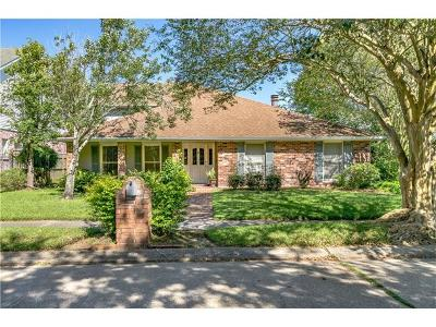 Kenner Single Family Home For Sale: 14 Zion Street