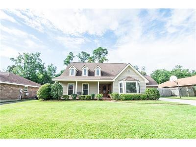 Slidell Single Family Home For Sale: 113 Northam Drive