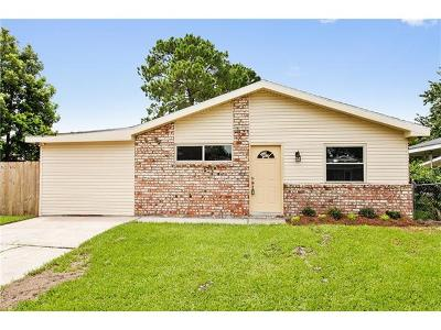 Marrero Single Family Home For Sale: 2717 Colony Court