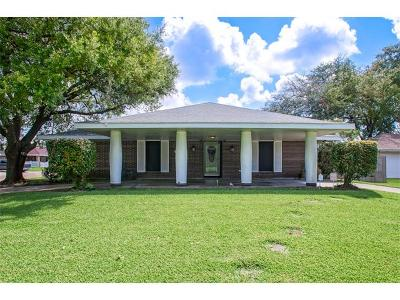 Marrero Single Family Home For Sale: 801 Avenue E Drive