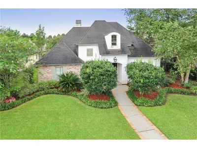 New Orleans Single Family Home For Sale: 27 Fairway Oaks Drive