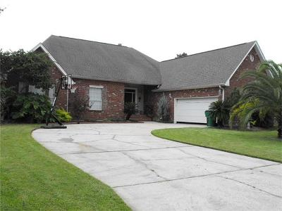 Slidell Single Family Home For Sale: 55 Oak Tree Drive
