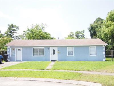 Kenner Single Family Home For Sale: 12 Furman Circle