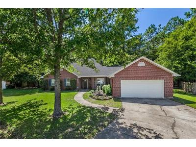 Single Family Home For Sale: 1024 Trail Court