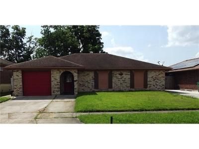 Marrero LA Single Family Home For Sale: $132,000