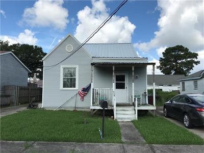 Kenner Single Family Home For Sale: 3413 Arkansas Avenue