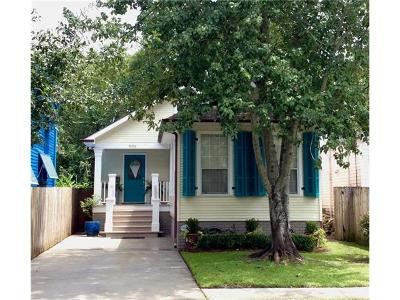 New Orleans Single Family Home Pending Continue to Show: 8215 Burthe Street