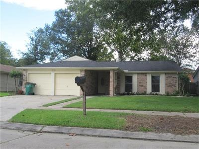 Harvey Single Family Home Pending Continue to Show: 2404 Timbers Drive