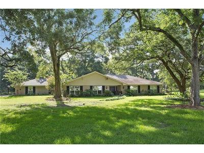 Slidell Single Family Home For Sale: 57042 Allen Road