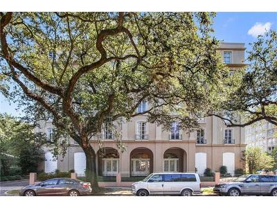 New Orleans Condo For Sale: 2434 St Charles Avenue #301