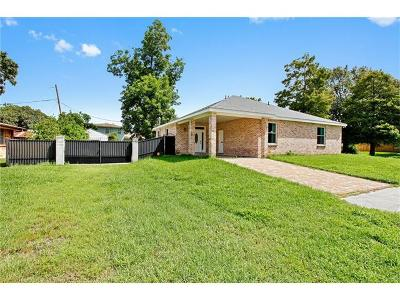 Metairie Single Family Home For Sale: 5601 York Street